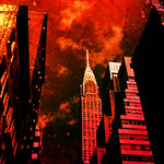 Monoliths From a Distant Past - Chrysler Building - New York City - By Vivienne Gucwa  We kept pieces of the old cities in place to remind us of a time when we were bound to the earth.  The ...